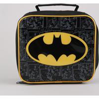 Lancheira Térmica Escolar Infantil Batman Preta