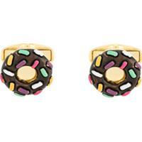 Paul Smith Abotoaduras Donut - Marrom