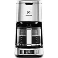 Cafeteira Electrolux Expressionist Aco Escovado Para Po De Cafe Display Lcd Progamavel - Cmp50