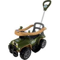Carrinho De Passeio Infantil Jip Jip Com Empurrador - Masculino-Verde Militar