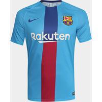 Camisa Barcelona Treino 19/20 Nike Masculina - Masculino