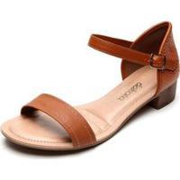 Sandália Dakota Feminina - Feminino-Caramelo