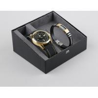 Kit De Relógio Analógico Mondaine Masculino + Pulseira - 99384Gpmvdi2K Dourado - Único
