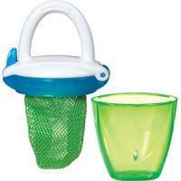 Alimentador Com Tampa- Verde & Azul- 11X6,5X5Cm-Munchkin