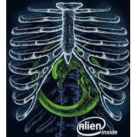 Camiseta Alien Inside