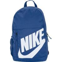 Mochila Nike Elemental Ya - Infantil - 20 Litros - Azul/Preto