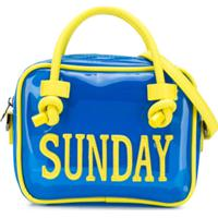Alberta Ferretti Kids Bolsa 'Sunday' - Azul