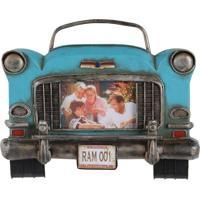 Porta Retrato Frente Carro 1 Foto 29X24X6Cm Oldway