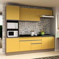 Cozinha Compacta Veneza 8 Pt 2 Gv Carvalle Com Maracujá
