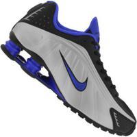 Tênis Nike Shox R4 - Masculino - Preto/Cinza Claro