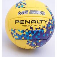 Bola Vôlei Penalty Mg 3600 Uf Viii Único - Masculino