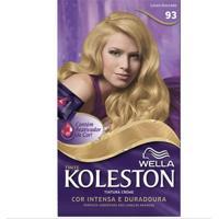 Tintura Wella Koleston Kit Creme 93 Louro Dourado