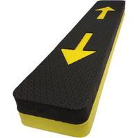 Protetor Fixtil De Para-Choque Preto E Amarelo