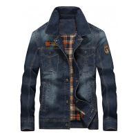 Jaqueta Jeans Masculina Hanover - Azul Escuro