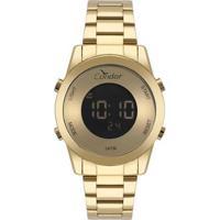 Relógio Condor Feminino Digital - Feminino-Dourado