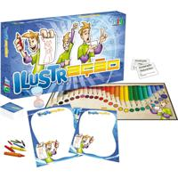 Jogo De Tabuleiro Nig Ilustraã§Ã£O Multicolorido - Multicolorido - Dafiti