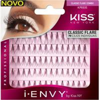 Cílios Postiços Kiss New York - I-Envy Individual Com Mini Nó Multi-Pack - Feminino-Incolor