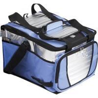 Caixa Termica Ice Cooler 36L Litros Com 1 Divisoria Mochila Termica Quente E Frio Dobravel Para Prai - Unissex