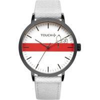 Relógio Touch Snoopy Vital Grafite Masculino - Masculino