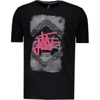 Camiseta Fatal Radio Skull Masculina - Masculino-Preto
