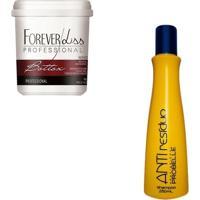 Botox Argan 1L Forever Lis + Anti Resíduo Probelle - Feminino