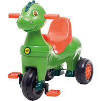 Triciclo Infantil Calesita Carrinho De Passeio Didino 2 Em 1