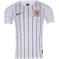 Camisa Do Corinthians I 2019 Nike - Masculina - Branco/Preto