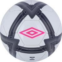 Bola De Futebol De Campo Umbro Stealth Copa - Branco Azul Esc 483bf362c0180