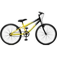 Bicicleta Master Bike Aro 24 Masculina Ciclone Amarelo