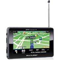 Gps Multilaser Tracker Tv Lcd Com Tela Touch 4,3Quot;, Fm, Tts E E-Book - Gp034