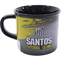 Caneca Minas De Presentes Santos Preta