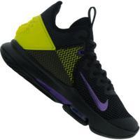 Tênis Nike Lebron Witness Iv - Masculino - Preto/Amarelo