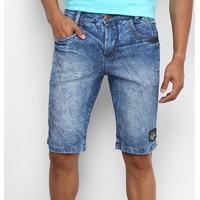 Bermuda Jeans Cyclone Stretch Mountain Masculina - Masculino-Jeans