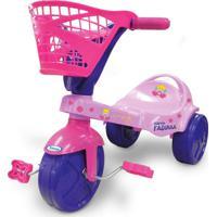 Triciclo Fadinha Rosa Xalingo