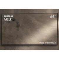 "Smart Tv Samsung Qled Uhd 4K 65"""" Qn65Q60Ragxzd Pontos Quanticos Modo"