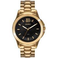 Relógio Euro Spike Fever Power Feminino - Feminino-Dourado