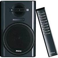 Micro System Philco Msp211N, Deck Para Fita Cassete, Reproduz Cd/Mp3, Usb, Auxiliar, Am/Fm, 12W Rms