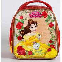 Lancheira Escolar Infantil Estampa Princesa Bela Disney