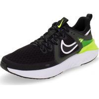 Tênis Masculino Legend React 2 Nike - At1368 Preto/Verde 38