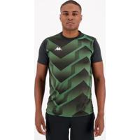 Camisa Kappa Clubber - Masculino-Verde