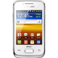 """Smartphone Samsung Galaxy Y Duos Branco - Dual Chip - Câmera 3Mp - 3G - Tela 3"""" - Android 2.3 - Desbloqueado"""