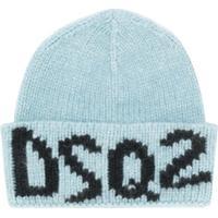Dsquared2 Gorro De Tricô Com Logo - Azul