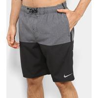 "Short Nike Swim Heater Split 9"" Masculino - Masculino"