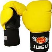 Luva De Boxe Muay Thai Combate Amarela - Jugui