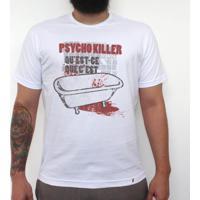 Psycho Killer - Camiseta Clássica Masculina