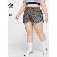 Plus Size - Shorts Nike Tempo Icon Clash Feminino