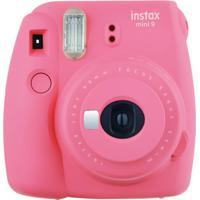 Câmera Fujifilm Instax Mini 9 Rosa Flamingo + Pack - Unissex