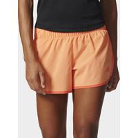 Short Adidas M10 Feminino - Feminino-Laranja Claro