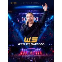 Wesley Safadão Em Brasília Ao Vivo - Dvd + Cd Sertanejo