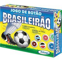 Jogo De Botões Xalingo Brasileirão 4 Jogos - Unissex